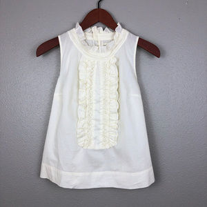 Anthropologie Edme & Esyllte Ruffle Front Top